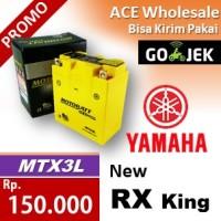 harga Aki New RX King Yamaha MOTOBATT MTX3L kering motor 135 MOTOBAT accu Tokopedia.com