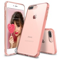 Rearth Ringke iPhone 7 Plus Case Fusion - Rose Gold