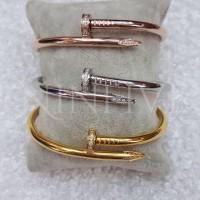 harga Gelang Cartier Nail Diamond  Premium (tidak luntur) Tokopedia.com