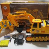 harga Rc Alat berat excavator Digger skala 1:14 bisa berputar 380 derajat Tokopedia.com