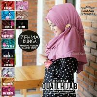 Jilbab instant Zehma ori Quail Hijab