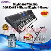 Keyboard Yamaha PSR E443 / PSR-E443 / PSR 443 + Stand + Cover