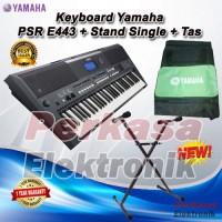 Keyboard Yamaha PSR E443 / PSR-E443 / PSR 443 + Stand + Tas