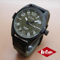 Jam Tangan Pria Lee Cooper Green Canvas