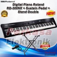 harga Digital Piano Roland Rd 300nx / Rd300nx / Rd 300 Nx / Rd-300nx + Stand Tokopedia.com