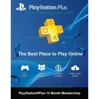 Promo! Sony PSN+, PlayStation Plus 12 Month Asia (PS3 PS4 PSVita)