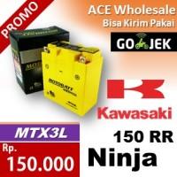 harga Aki/ Ninja 150 RR Kawasaki/ MOTOBATT MTX3L/ kering motor Tokopedia.com