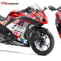 Ninja 250R Fi RED - MISSONI