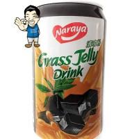 Naraya Grass Jelly Drink/ Cincau 300ml- Minuman kaleng