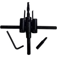 Mata Bor Pelubang Kayu / Adjustable Circle Hole Cutter Tool NANKAI
