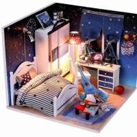 Jual Mainan Edukasi Diy Rumah Funky Lampu Led & Akrilik 16x16x13cm Tytsts . Murah
