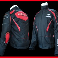 Jaket Rompi Motor Touring Shift Flm BRUTAL Contin Respiro Merah XXL
