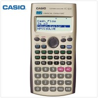 Casio Fc 100v - Financial Calculator Kalulator Fiansial Keuangan ORI