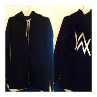 Hoodie Zipper Alan Walker - Super Premium