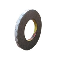 3M 9075i / 7385C Double Coated Tissue Tape - 12 mm x 50 m - 1 Buah