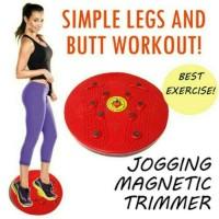 Jual Jogging Trimer / Magnetic Trimmer Body Plate / Alat Olahraga Murah