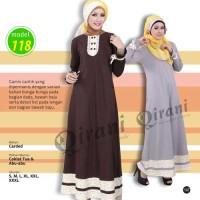 Murah&Berkualitas/Gamis Qirani 118/Kaos Carded