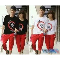 Jual LP Shao Nai / kaos couple lengan panjang / baju couple / couple Murah