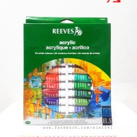 Reeves Acrylic Paint 24 Colours