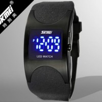 Jual ORI SKMEI BLACK SKY Waterproof Jam Tangan LED Digital Watch Anti Air Murah