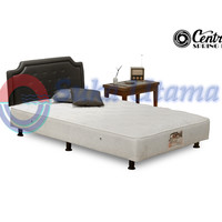 Spring Bed Central MultiBed DLX HB Calista 100x200cm Full Set