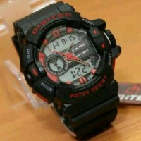 Jam Tangan Sport Digitec DG-2080 Original Black label Red