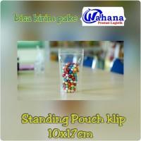 Plastik Ziplock Standing Pouch Ukuran 10x17 cm Satuan