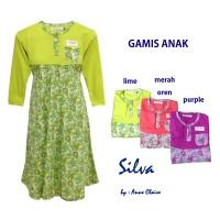 SILVA Gamis Anak Perempuan/Baju Muslim / Dress Murah  Anne Claire