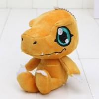 Boneka Digimon Agumon Taichi Plush Toy Keychain Gantungan Kunci