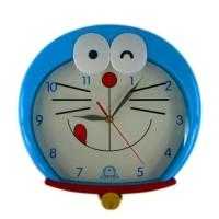Jual Jam dinding kepala karakter Doraemon Murah