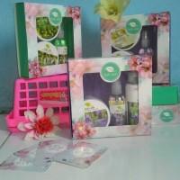 Jual Paket Cantik Bali Ratih + Box / Parcel (Isi : Body Mist, Scrub, Butter, Lotion) Murah