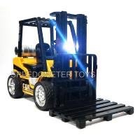 Diecast OICE Alat Berat Forklift 1/24 | Mainan Anak Pajangan Miniatur