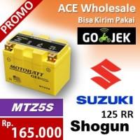 harga Aki kering/ Shogun 125 RR Suzuki/ MOTOBATT MTZ5S/ accu gel motor AB Tokopedia.com