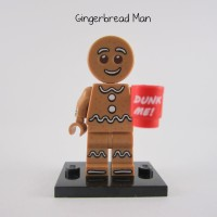 Lego Original Minifigure Gingerbread Man Cookie Series 11