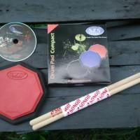 SZS Drum Pad Compat 6 inch with strap+ bonus vcd lesson