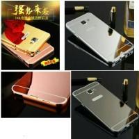 Casing Samsung Galaxy A3 A5 A7 A310 A510 A710 2016 Bumper Mirror Case