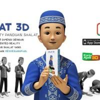 Kartu Sholat Animasi 3D, Shalat Card Anak 3D, Kartu Solat Android iOS
