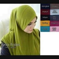 Jual Hijab Jilbab instan SYIRIA POLOS Murah