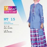 Gamis Nibras Teen Remaja  NT. 15 Biru, Merah, Orange
