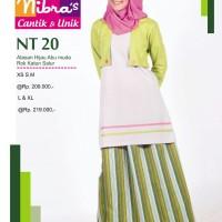 Gamis Nibras Teen Remaja  NT. 20 Hijau Muda & Turqis