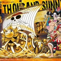 One Piece Great Ship Collection Thousand Sunny FILM GOLD