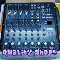 mixer ashley smr-8 (8 channel) original garansi resmi
