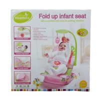 harga BOUNCER BABY MASTELA FOLD UP INFANT SEAT PINK Tokopedia.com