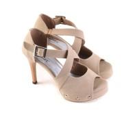 sepatu sandal BRANDED high heels wanita / sepatu pesta formal artis GS