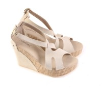 wedges branded berkualitas bagus / sandal wanita wedges pesta artis GS