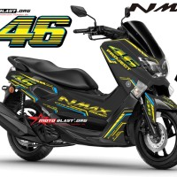 Yamaha NMAX - AGV VR46 Project Ver.2