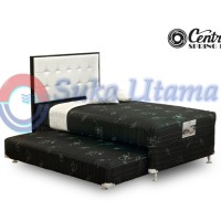harga Spring Bed Central 2 In 1 Silver HB Seven 120x200cm Full Set Tokopedia.com