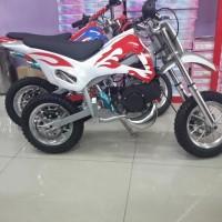 harga Motor Sport Mini Trail 50cc 2 Tak Koleksi Outdoor Offroad Hobi Anak Tokopedia.com
