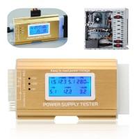 Digital Power Supply Tester LCD PC 20/24 Pin PSU ATX BTX ITX SATA HDD