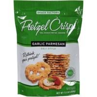 Snack Factory Pretzel Crisps Garlic Parmesan Pretzel Cracker Import